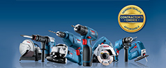 New! Bosch Contractor's Choice